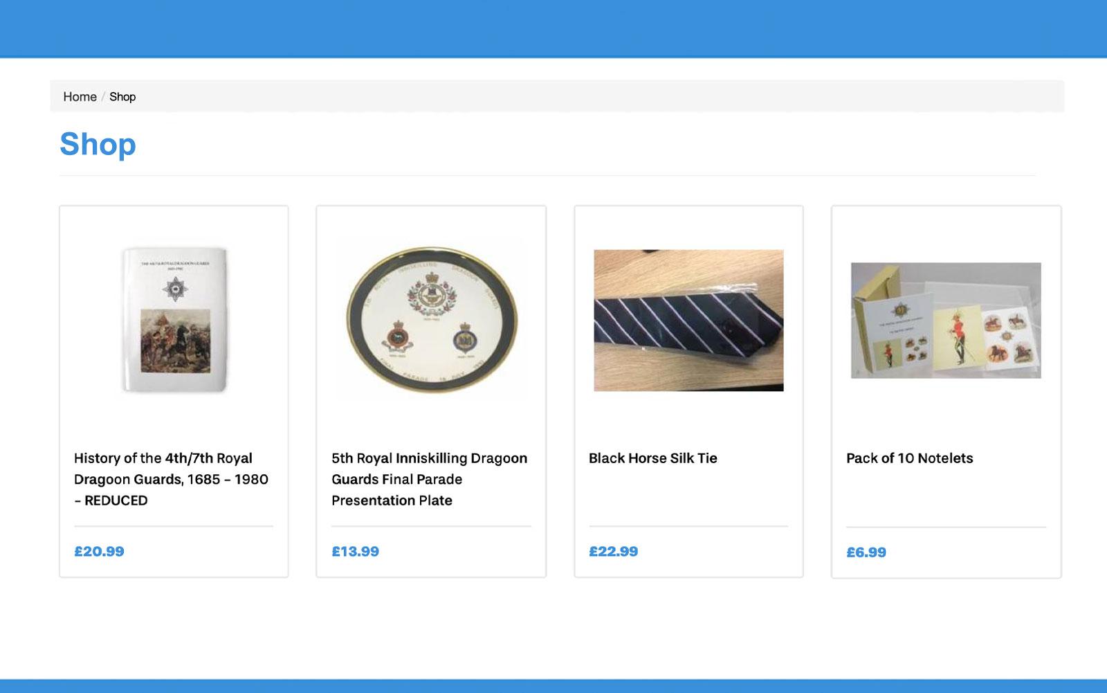 Revenue Features - Shop